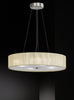 FLF1619 Violet 4 Light Pendant Satin Nickel
