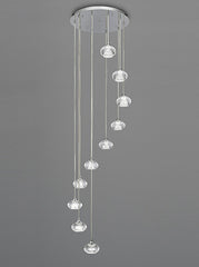 FLF1623-10 Stairwell Ceiling Pendants, Ceiling Statement Pieces
