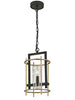 FLF1669- 1B Emma 1 Light Pendant Antique Iron