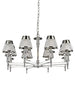 FLF1706-8C Sophia 8 Light Fitting Chrome