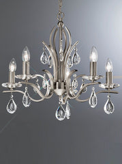 FLF1718-5S Crystal Ceiling Chandeliers