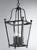 FLF1766-4B Ada 4 Light Lantern Antique Bronze