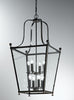 FLF1766-8B Ada 8 Light Lantern Antique Bronze