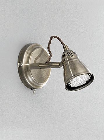 FLF2226-1WL Amelie 1 Light Spot Bronze