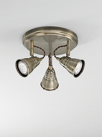 FLF2226-3B Amelie 3 Light Spot Bronze