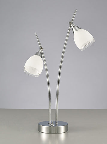 FLF2230-TLC Jasmine 2 Light Table Lamp Chrome