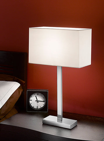 FLF2276 Table Lamp Chrome
