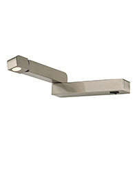 FLF2331-1S LED Reading Light (Left) Satin Nickel