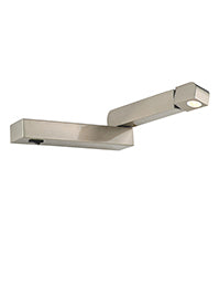 FLF2331-2S LED Reading Light (Right) Satin Nickel