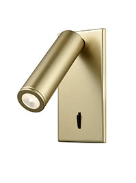 FLF2331-3G LED Reading Light (Surface) Gold Colour