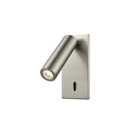 FLF2331-3RS LED Reading Light (Recess) Satin Nickel