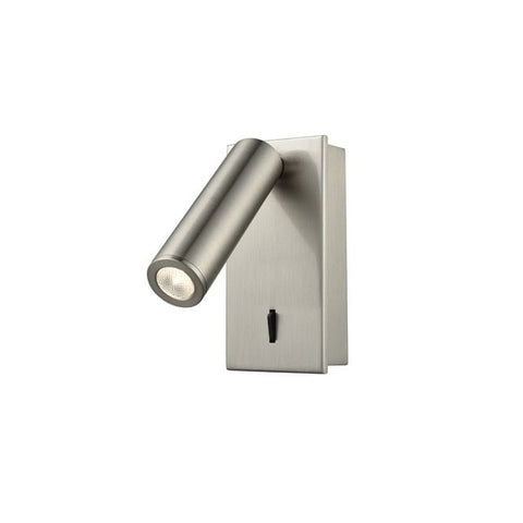 FLF2331-3SS LED Reading Light (Surface) Satin Nickel