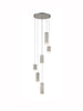 FLF3415-6SN Eileen 6 Light Fitting in Satin Nickel