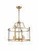 FLF3537-5AG Melodie 5 Light Lantern in Antique Gold Finish