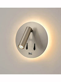 FLF3557 LED Reading Light in Satin Nickel Finish