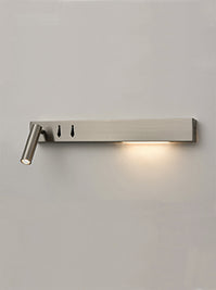 FLF3558 LED Wall Light (Right) in Satin Nickel Finish