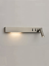 FLF3559 LED Wall Light (Left) in Satin Nickel Finish