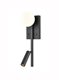 FLF3561 LED Reading Light in Matt Black