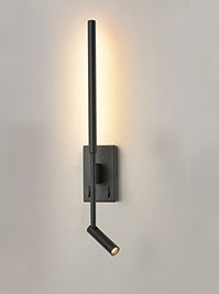 FLF3563 LED Reading Light in Matt Black Finish