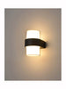 FLF3681 Exterior LED Wall Fitting Finished Matt Black