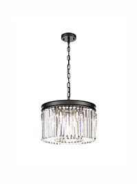 FLF3698-5B Skyler 5 Light Pendant Finished Black