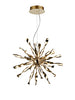 FLF3712-MG Valerie Integral LED Gold Pendant Dimmable