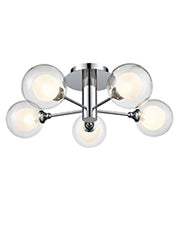 FLF3719-5 Semi Flush Ceiling - Modern