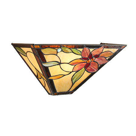 FLIN0005-WL Martina 1lt Tiffany Wall Light