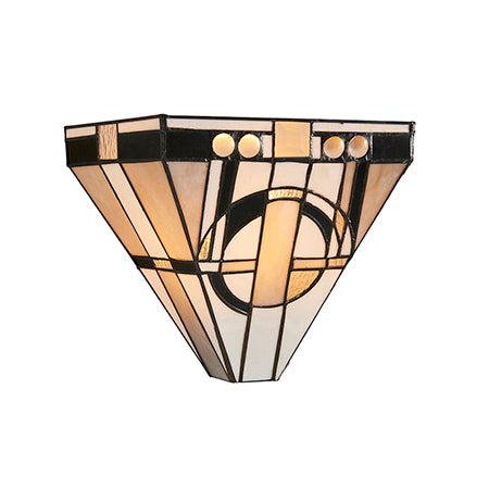 FLIN0008-WL Gioia 1lt Tiffany Wall Light