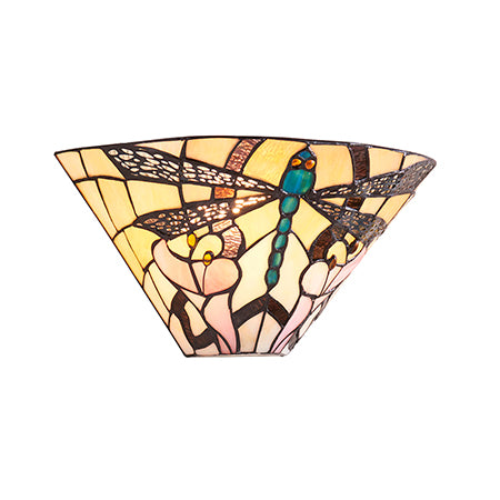 FLIN0013-WL Arianna 1lt Tiffany Wall Light