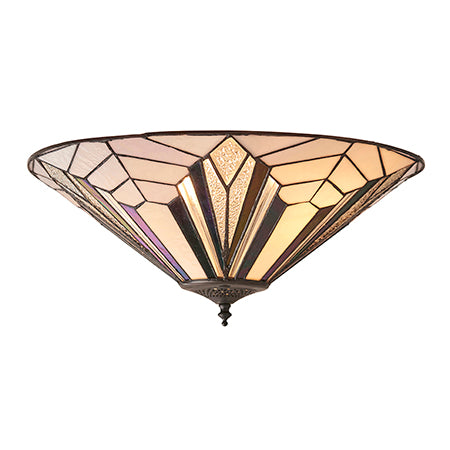 FLIN0018-WL Asia 1lt Tiffany Wall Light