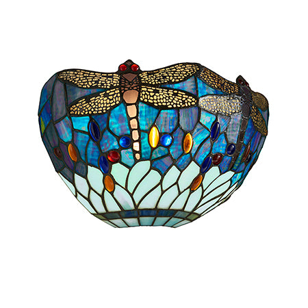 FLIN0066-WL Chiara 1lt Tiffany Wall Light