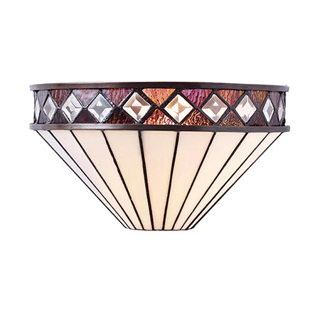 FLIN0092-WL Elena 1lt Tiffany Wall Light