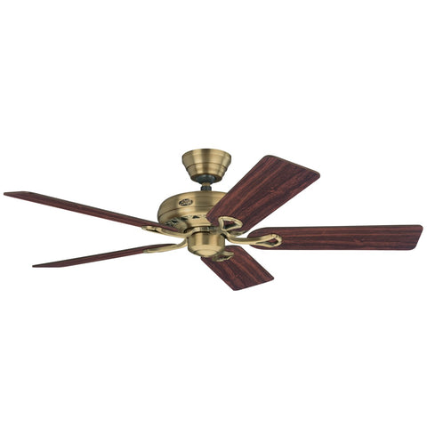 HT-24520 - Savoy - 132cm Fan - Antique Brass