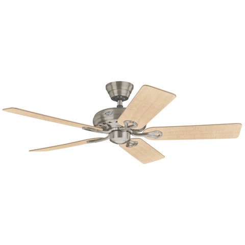 HT-24521 - Savoy - 132cm Fan - Brushed Nickel
