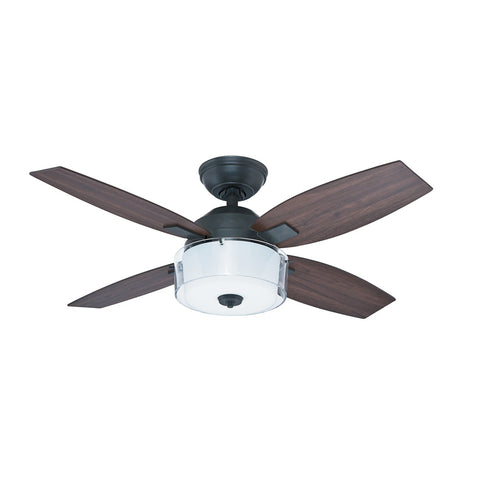 HT-50618 - Central Park - 107cm Fan - Aged Steel