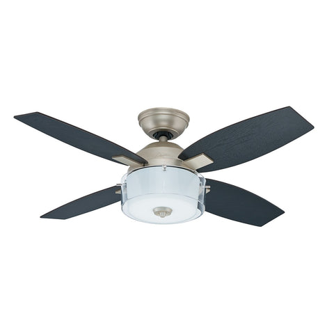 HT-50619 - Central Park - 107cm Fan - Pewter Revival