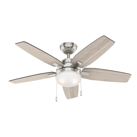 HT-50646 - Arcot - 117cm Fan - Brushed Nickel