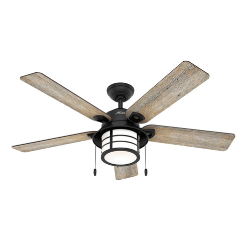HT-50648 - Santorini - 132cm Fan - Natural Iron