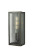 Dar Lighting KEE5263 Keegan Wall Light Rubbed Bronze Small IP44