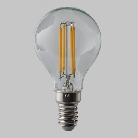 FUS0005 E14 Golf Ball Filament Omni Lamp  4.5W (31W) 2700K 470lm Dimmable