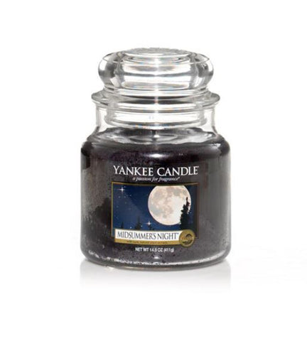 YANKEE CANDLE MIDSUMMER'S NIGHTS MEDIUM JAR  114174E