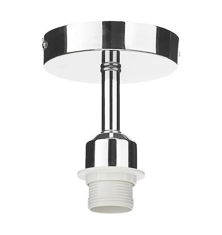 Dar Lighting SF0150 Semi Flush Suspension Polished Chrome