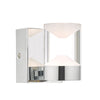 Dar Lighting SUS0750 Susa W/Lt Polished Chrome & Acrylic LED Bathroom IP44