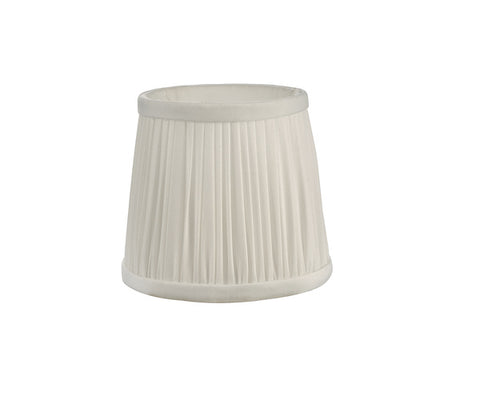 Dar Lighting ULY0515 Ulyana Pleated Shade 14cm Ivory