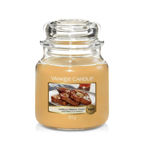 YANKEE CANDLE VANILLA FRENCH TOAST MEDIUM JAR CANDLE 1629487E