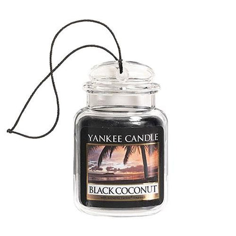 YANKEE CANDLE BLACK COCONUT ULTIMATE CAR JAR 1295841E
