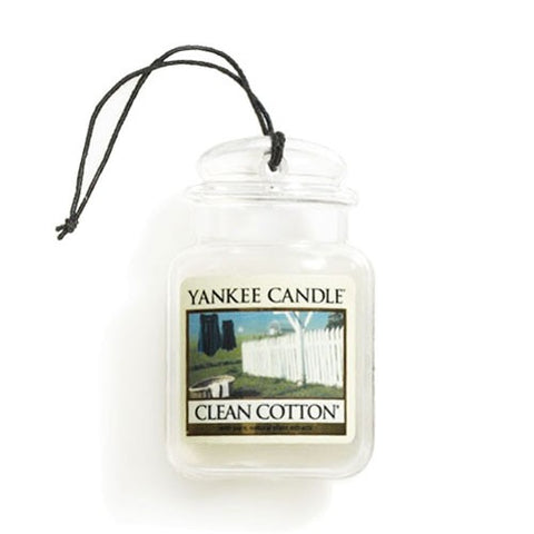 YANKEE CANDLE CLEAN COTTON ULTIMATE CAR JAR 1220878E