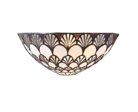 FLIN0058-WL Manuel 1lt Tiffany Wall Light
