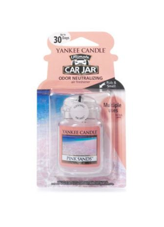 YANKEE CANDLE PINK SANDS ULTIMATE CAR JAR 1238122E